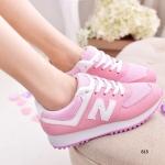 รองเท้าผ้าใบ สไตล์สปอรต์สุด cool วัสดุผ้าใบผสมกับตาข่ายงานเกรดพรีเมี่ยม สีสันสดใส ดีเทลแต่ง N ด้านข้าง พื้นรองเท้าโค้งรับน้ำหนักได้ดีและมีความยืด หยุ่นสูง ทำให้รองเท้ามีความบาลานซ์ และสวมใส่สบายมาก จับคู่ Mix & Match กับเสื้อผ้าได้ทุกลุค สไตล์เท่ห์ๆ แบบสต