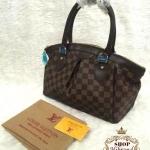 กระเป๋า Louis Vuitton Tivoli 10 นิ้ว จีบหน้าหลังสวยหรู ปากกระเป๋าซิป ด้านในบุผ้าอย่างดี พร้อมการ์ดและถุงผ้า