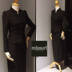 ชุดไทยพระราชนิยม ชุดไทยจิตรลดา สีดำ ผ้า Cotton Spandex เกรดพรีเมี่ยม