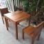 ชุดโต๊ะแก่นจันทร์ 2 ที่นั่ง thumbnail 1