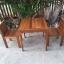 ชุดโต๊ะเก้าอี้แก่นจันทร์ 2 ที่นั่ง thumbnail 2