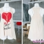 เสื้อกล้ามคลุมท้อง Heart Breaker สีน้ำตาล+เสื้อคลุมทับสีแดง thumbnail 4