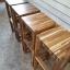 เก้าอี้บาร์หัวโล้นไม้ประสาน thumbnail 4