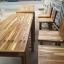 ชุดโต๊ะบาร์เก้าอี้พนักพิงไม้อะคาเซีย thumbnail 3
