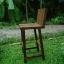 เก้าอี้บาร์พนักพิงไม้วอลนัท thumbnail 1