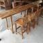 ชุดโต๊ะบาร์ 220 ไม้อะคาเซีย 3 ที่นั่ง thumbnail 1