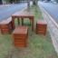 """ชุดโต๊ะเก้าอี้สนาม """"ชุดราด-รี บางแพ"""" 4 ที่นั่ง thumbnail 2"""
