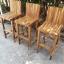 ชุดโต๊ะบาร์เก้าอี้พนักพิงไม้อะคาเซีย thumbnail 6