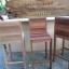 เก้าอี้บาร์ไม้สีสัน thumbnail 4