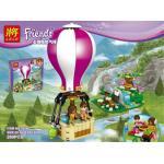 เลโก้จีน LELE79166 ชุด Friends Heartlake Hot Air Balloon