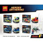 เลโก้จีน LELE 79130 A-D ชุด Heroes Gathering