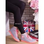 รองเท้าผ้าใบ Korea Canvas หุ้มข้อทรง Converse สุดน่ารัก Classic สีสวยสดใส ทรงผูกเชือก ติดโลโก้ LOVE พื้นยางหนา มาพร้อมเชือกทู โทน สวมใส่สบาย พื้นนิ่มอย่างดี แมทเทห์ได้ไม่มีเอาท์ (SM-322)
