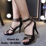 รองเท้าส้นสูง สวยปราดเปรียว หนังสวยนิ่ม ซิปหลังใส่ง่าย ใส่สบายเท้า สวยเริ่ดมาก ส้นเข็ม 4.5 นิ้ว