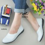 รองเท้าคัชชู ส้นเตี้ย หนังนิ่ม ขอบตัววี เรียบหรูดูเท้าเรียว ด้านในนิ่มอย่างดี พื้นนุ่ม กระชับเท้า ใส่สบาย สไตล์รองเท้าสุขภาพ แมทสวยได้ทุกโอกาส สูง 2 เซน สีขาว น้ำตาล น้ำเงิน ครีม