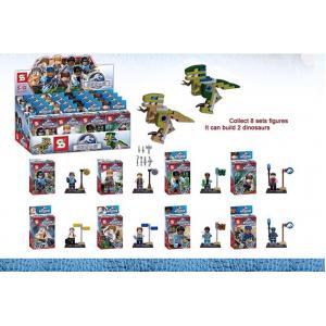 เลโก้จีน SY 280 ชุด Jurassic World + ไดโนเสาร์ 2 ตัว