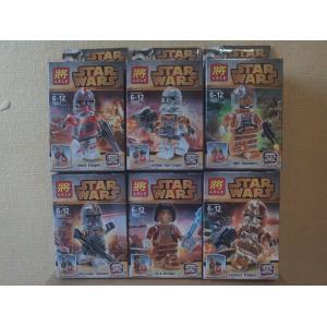 เลโก้จีน LELE79021 Starwars ตัวใส