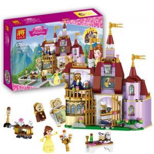เลโก้จีน LELE 37001 ชุด Belle's Enchanted Castle