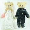 ตุ๊กตาหมีคู่รัก ขนาด 0.30 เมตร (แบบที่ 1)