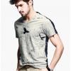 [พรีออเดอร์] เสื้อยืดแฟชั่นอเมริกา และยุโรปสไตล์ สำหรับผู้ชาย แขนสั้น เก๋ เท่ห์ - [Preorder] Men American and European Hitz Style Slim Short-Sleeved T-Shirt