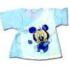 เสื้อจิมเบอิ สีขาว-ฟ้า ลาย Baby Mickey Mouse S80
