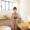 [พรีออเดอร์] ชุดเดรสผู้หญิงแฟชั่นเกาหลีใหม่ แขนกุด แบบเก๋ เท่ห์ -[Preorder] New Korean Fashion Slim Sleeveless Dress
