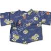 เสื้อจิมเบอิ สีน้ำเงิน ลายตุ๊กตาญี่ปุ่น
