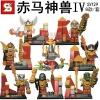 เลโก้จีน SY129 Chima