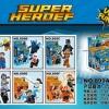 เลโก้จีน Dargo 899A-F ชุด Heroes 2in1