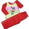 ชุดนอน สีชมพู-แดง ลาย Minniee กับของขวัญ 24M