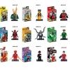 เลโก้จีน Xinh 010-018 ชุด super heroes