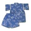 ชุดจิมเบอิ สีน้ำเงิน ลายช้าง ยี่ห้อ Moujonjon S120