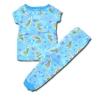 ชุดนอน สีฟ้า ลาย Fairies กับผีเสื้อ 18M