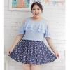 พรีออเดอร์ เสื้อแฟชั่นเกาหลี คอกลม ไซส์ใหญ่ สำหรับสาวอ้วนวัยทีน สุดชีค - Preorder Women Korean Hitz New Large Size Shirt