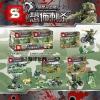 เลโก้จีน SY246 ชุด Falcon Commandos