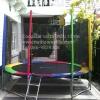 Coopster แทรมโพลีน 10ฟุต(3.05ม) สีสายรุ้ง