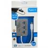 OEM ตัวแปลง USB Type C เป็น 3 Port USB Hub 3.0/3.1 + Card Reader สำหรับ SD(HC) TF M2 MS DUO