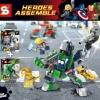 เลโก้จีน SY 517A-517B ชุด หุ่นยนต์ The Avengers