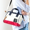 Mini Anello Boston shoulder Bag (สี France)