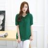 [พร้อมส่ง] เสื้้อแฟชั่นเกาหลีใหม่ แขนสั้น สำหรับผู้หญิงไซส์ใหญ่ - [In Stock] New Korean Fashion Shirt Short-Sleeved for Large Size Woman