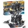 เลโก้จีน Kazi87010 เรือโจรสลัด Black Pearl