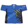 เสื้อจิมเบอิ สีน้ำเงิน ลาย Abaranger S110