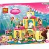 เลโก้จีน Bela10436 ชุด Little Mermaid Ariel's Undersea Castle