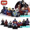 เลโก้จีน XINH 164-171 ชุด Super Heroes (สินค้ามือ 1 ไม่มีกล่อง)