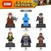 เลโก้จีน XINH 387-392 ชุด Super Heroes (สินค้ามือ 1 ไม่มีกล่อง)