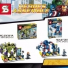 เลโก้จีน SY 361A-361B ชุด หุ่นยนต์ The Avengers wave2