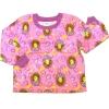 เสื้อ สีชมพู ลาย Princess สวมมงกุฏ 5T