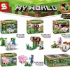 เลโก้จีน SY 703A-D ชุด My World