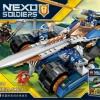 เลโก้จีน LELE79239 ชุด NEXO Knights Clay's rumble blade