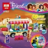 เลโก้จีน LEPIN01007 ชุด Friends Amusement Park Hot dog Van