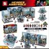 เลโก้จีน SY368 ชุด Heroes Assemble Avengers Lab
